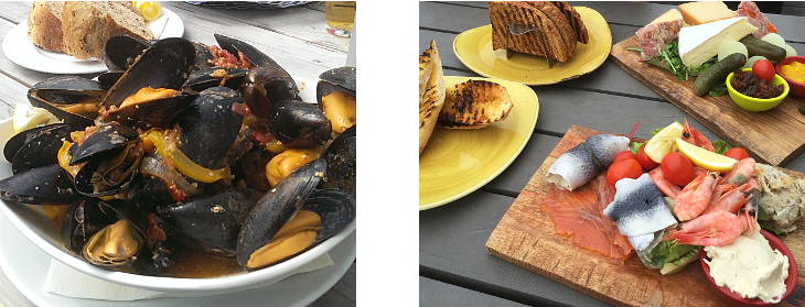 locally caught west dorset seafood
