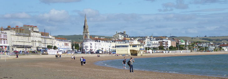 weymouth beach and seafront