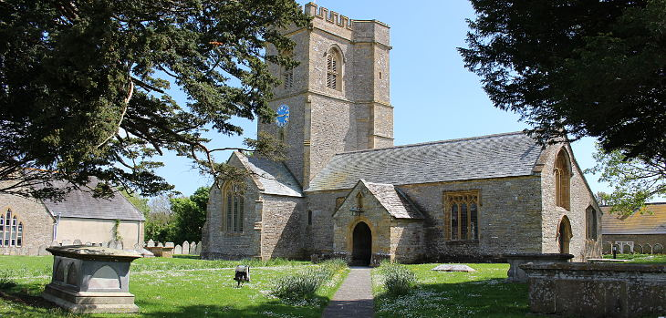 church of st mary's, burton bradstock