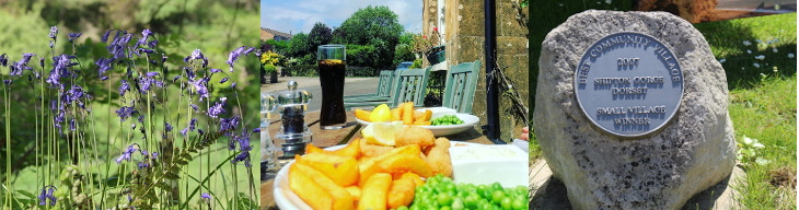lunch at the new inn by the village award