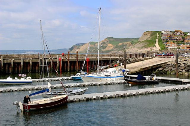 west bay harbour and the jurassic coast