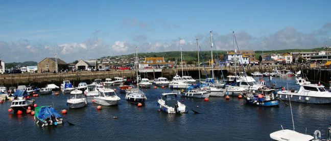 view of west bay harbour