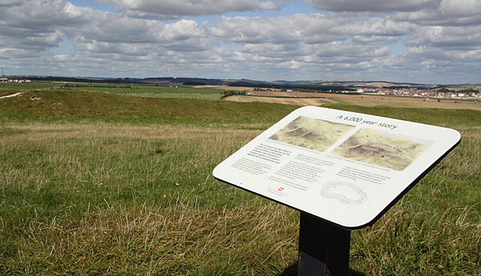 Maiden Castle, Dorchester