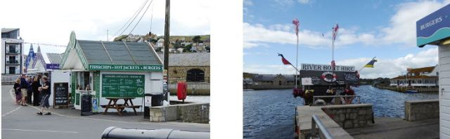 harbour stalls and river boat hire