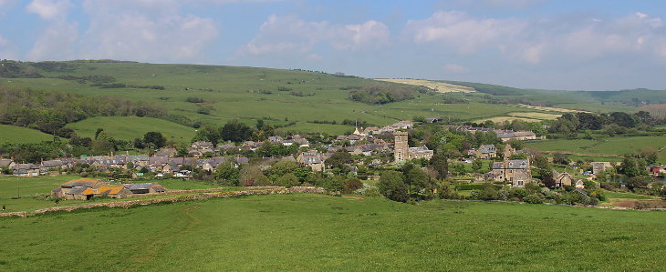 abbotsbury and church of st nicholas