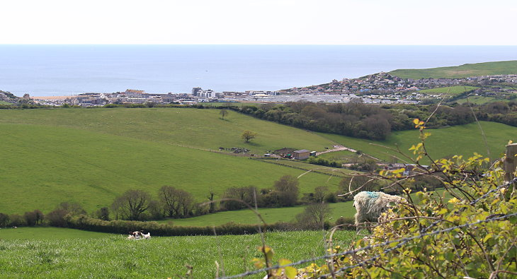 looking over to west bay