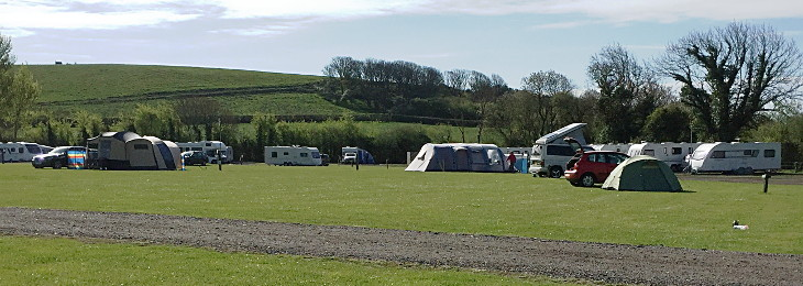 a west dorset touring and camping park